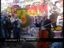 Rostropovich Berlin Wall Checkpoint Charlie Bach Sarabande