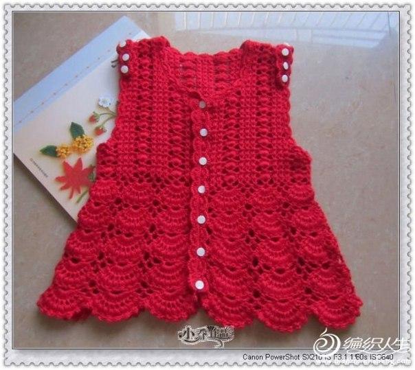 Платье детское на пуговицах, схема (10 фото) - картинка
