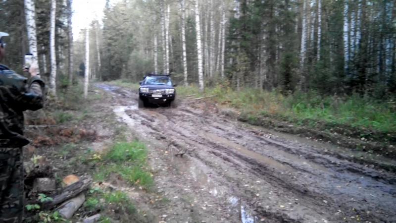 КРУАЗИК 200 и немного грязи.