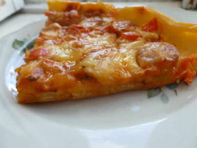 Как сделать тесто для пиццы на сметане
