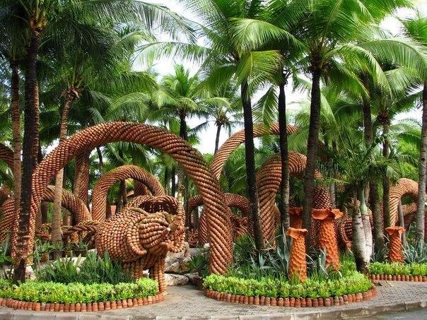 Сад Нонг Нуч в Паттайе.