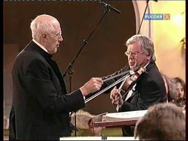 Шостакович 1 й скрип концерт Третьяков Ростропович