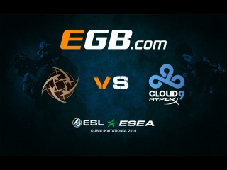 Shroud vs NIP @ ESL ESEA Dubai Invitational 2015