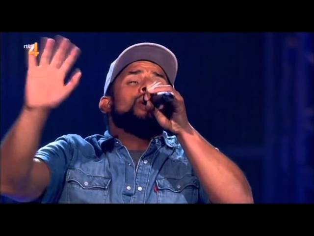 Mitchell Brunings Redemption Song by Bob Marley The Voice Of Holland Season 4