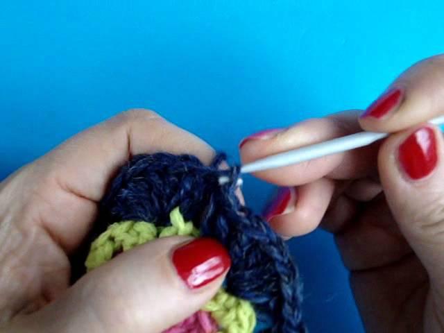 Вязание крючком Урок 248 Шестиугольник Crochet hexagon motif