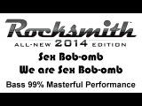 Sex Bob-omb We are Sex Bob-omb Rocksmith 2014 bass 99% pick