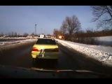 Появилось видео обстрела под Волновахой, снятое из автомобиля