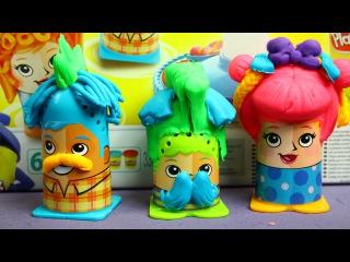 Crazy Cuts / Сумасшедшие прически - Play-Doh - Hasbro - B1155
