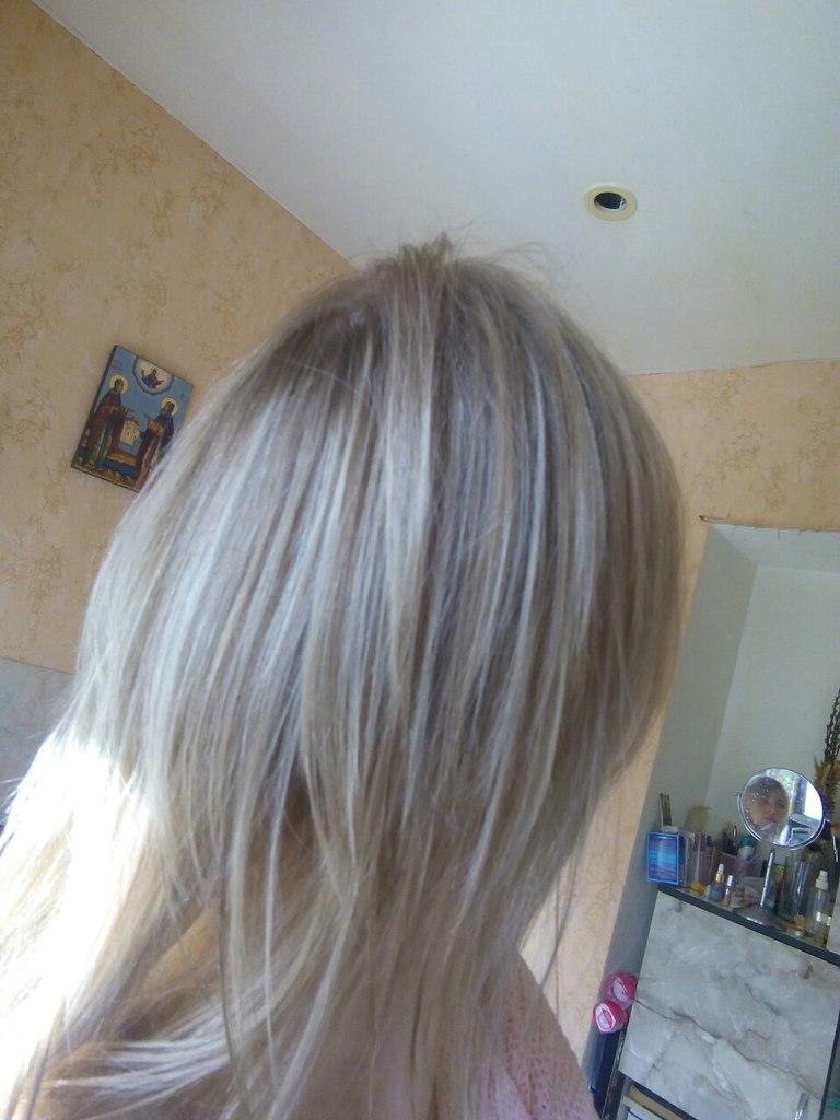 мелированный оттенок как подобрать волосы на заколках