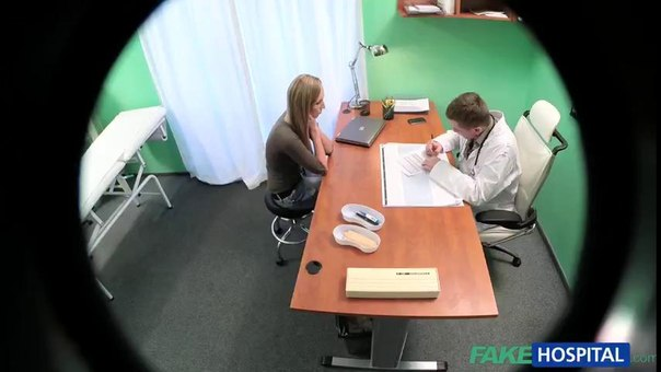 FakeHospital E140 Online Jana Prochazkova Doctor prescribes an erotic massage for sexy blonde patient