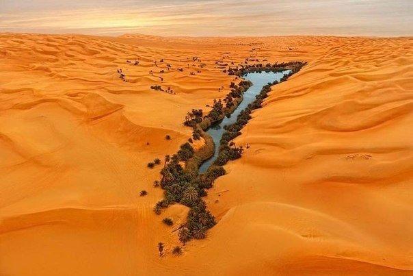 Ливийская пустыня на карте африки