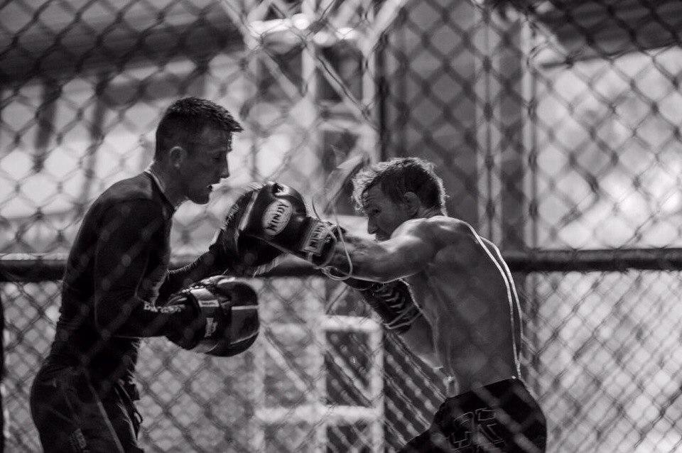 Конор Макгрегор тренировка UFC 189