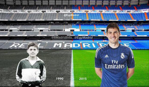 Сборная Испании по футболу, Реал Мадрид, Икер Касильяс, Сантьяго Бернабеу