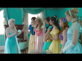 Frozen - A Musical feat. Disney Princesses rus sub