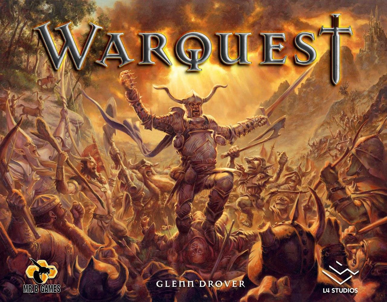 «WarQuest», арт для обложки