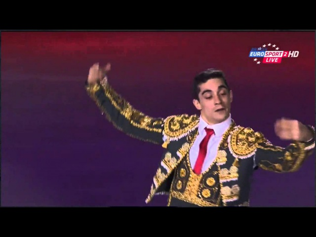 Javier FERNANDEZ - Cup of China 2015 - Exhibition (B.EURO)