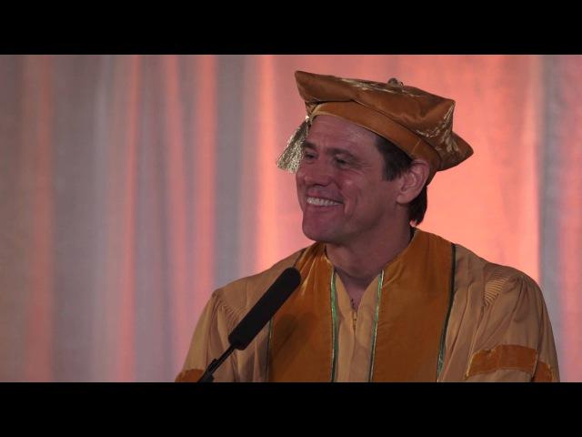 Speech: Jim Carrey's Commencement Address at the 2014 MUM Graduation (EN, FR, ES, RU, GR,...)