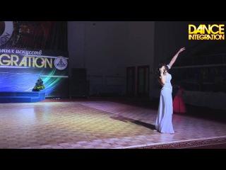 DI 2015 Екатерина Вербовая 18.12. Belly Dance/Russia, Komi Republic, Ukhta. Эстрадная песня