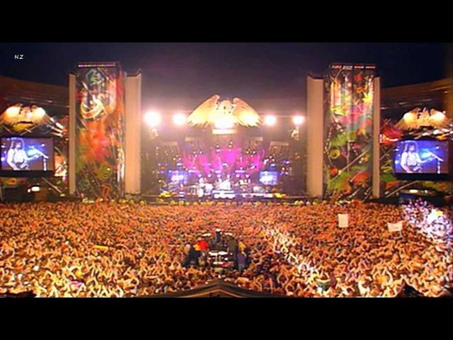 Queen Elton John Tony Iommi - The Show Must Go On 1992 Live