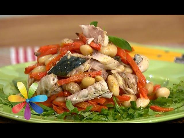 Диетический ужин: сытный салат с фасолью - Все буде добре - Выпуск 566 - Все будет хорошо 17.03.2015