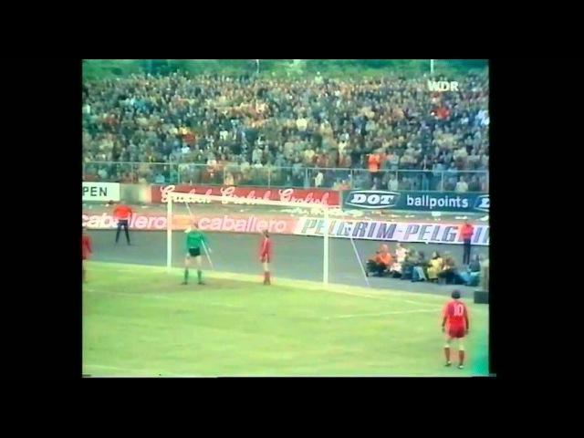 UEFA Cup Finale 1975 M´Gladbach .. Enschede - Ganzes Spiel