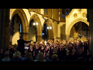 Inspiration choir at St Marys 'The Crown and the Ring' Edinburgh Festival August 2012