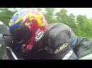 Скорость мотоцикла с коляской мотогонки TT Остров Мэн 2014