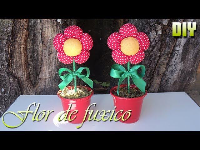 FLOR DE FUXICO | DIY - PASSO A PASSO