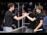 Andy Murray vs David Goffin Davis cup 2015 Highlights