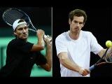 Andy Murray vs Ruben Bemelmans Davis cup Highlights