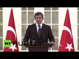 Турция: Стамбул террорист-смертник был Исламская Государство член - Премьер-Министр Давутоглу.