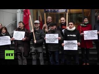 Бельгия: Польские журналисты осуждают новый закон о СМИ правительства.