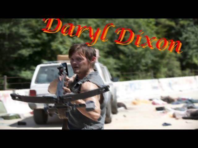 Daryl Dixon - Lost In The Echo [Walking Dead Music Video]