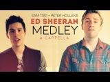 Epic Ed Sheeran Medley!! (A Cappella) - Sam Tsui + Peter Hollens