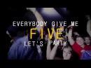 Dj Gollum Dj Cap - Give Me Five (Sunvibez Radio Edit) (Lyrics Video)
