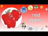 Learn Colors Fruits Objects Kindergarten ELF Learning