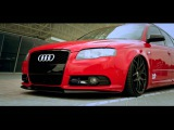 Audi A4 B7 Avant Briliant Red 19