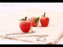 Кулон Наливное яблочко из FIMO