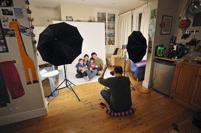 Как сделать домашнюю фотостудию фото 193
