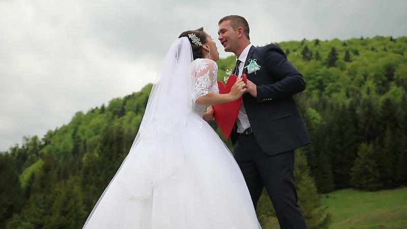 ДВОКАМЕРНА ЗЙОМКА Весілля в Перегінську 9.05.2015. КЛІП