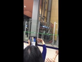 21.11.2015 в аэропорту Кансай Осака