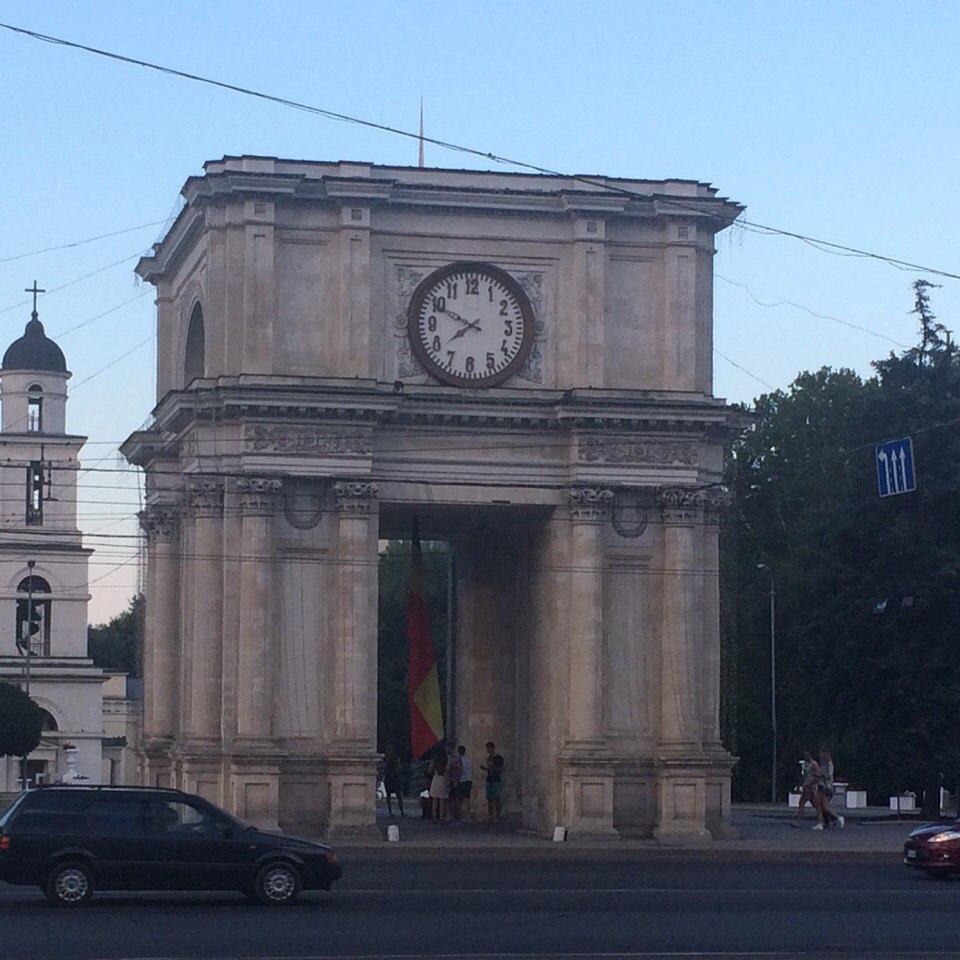 святые ворота, Кишинев, Молдавия