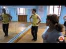 Обучение русским танцам! Русские пробежки! Самара! Часть 4