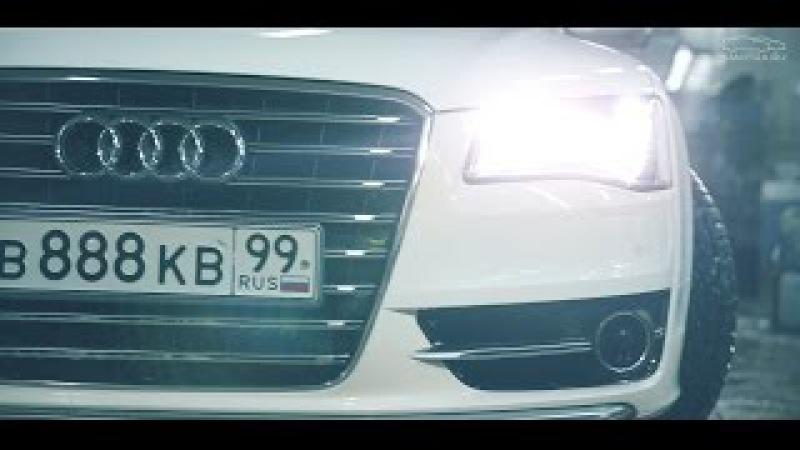 Тест-драйв от Давидыча Audi S8 ABT