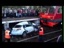 Авария ДТП. Щербинка. Поезд раздавил на жд переезде.