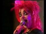 NINA HAGEN ZIGGY STARDUST SWEDISH TV 1980