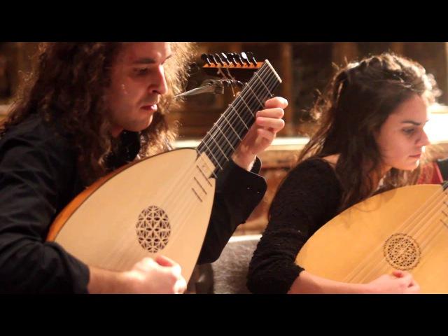 Quartetto di Liuti da Milano Ricercari danze madrigali canzoni del Cinquecento parte 3