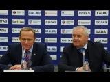23.10.2015 Пресс-конференция: Крикунов - Аболс