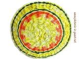 ▬► Плетение из газет красивого декоративного узора. Часть 1.3. / willow basketry teacher