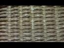 ▬► Узоры. Сочетание ситцевого плетения с верёвочкой.